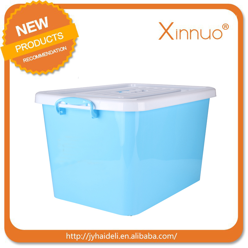 60L LLDPE plastic fast food delivery container, for lunch, supper delivery by motorbike