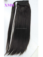 wholesale for black women 100% human hair ponytail hair extensions