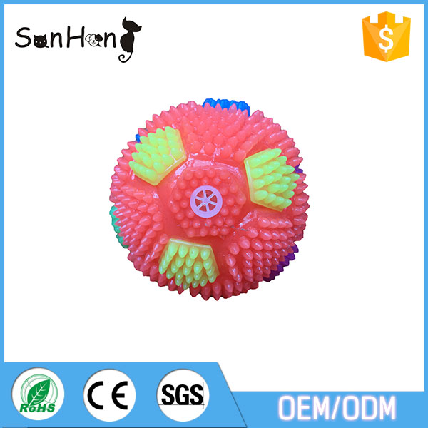 2017 Cheap unique best quality pet chew ball toy