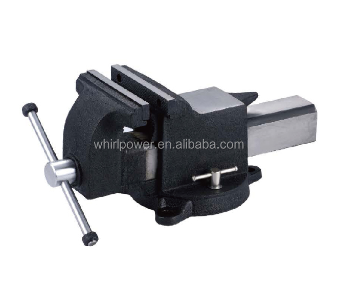 F021-01 All Cast Steel Bench Vise / Machine Vise