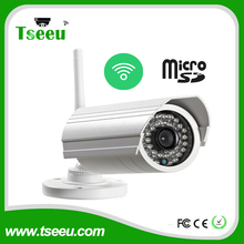 720P 960P 1080P HD Small Outdoor indoor WIFI 128G micro SD Card bullet P2P Security IP Camera
