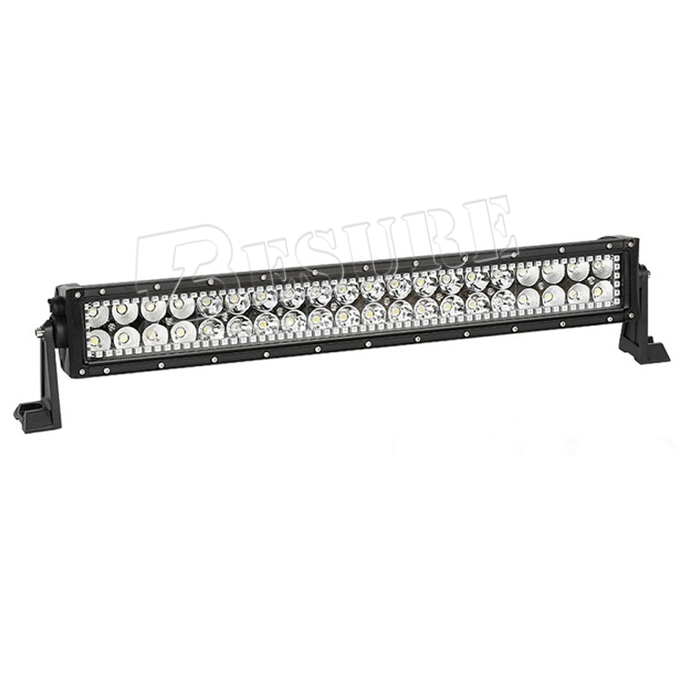 Remote Straight Double Row RGB Light Bar 10.6'' 16.7'' 24.8'' 32.2'' 42.2'' 50.35'' 52.25'' With Screws On The Frame For Trucks