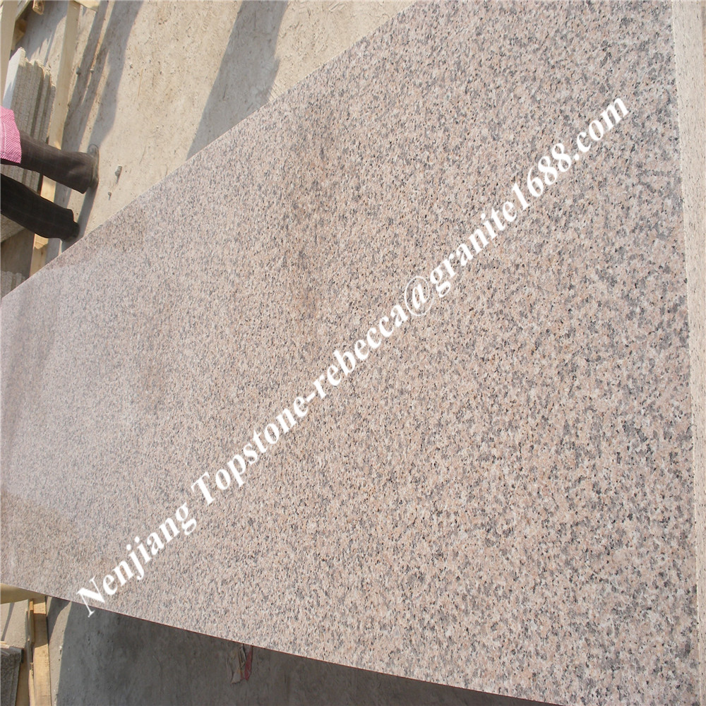 China pink granite G367 for tiles, slabs and stairs