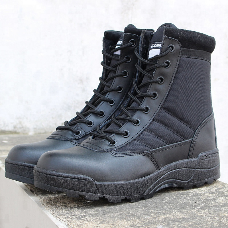 Wholesale Professional Outdoor Hunting Tactical Military Men Black <strong>Boots</strong>