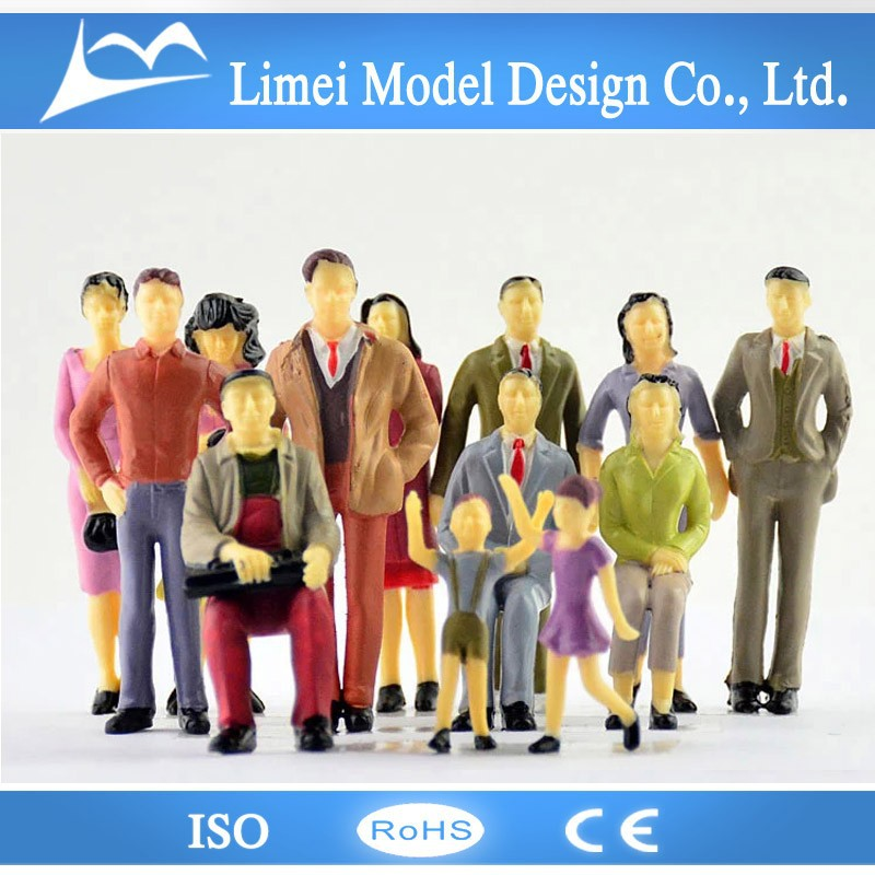 1:50/1:100/1:150/1:200 various scales architectural models figures/Architectural Model Scale People for train layout