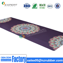 Factory price manufacturer exercise natural rubber yoga mat