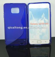 S-line tpu case for sumsung i9100 galaxy s2