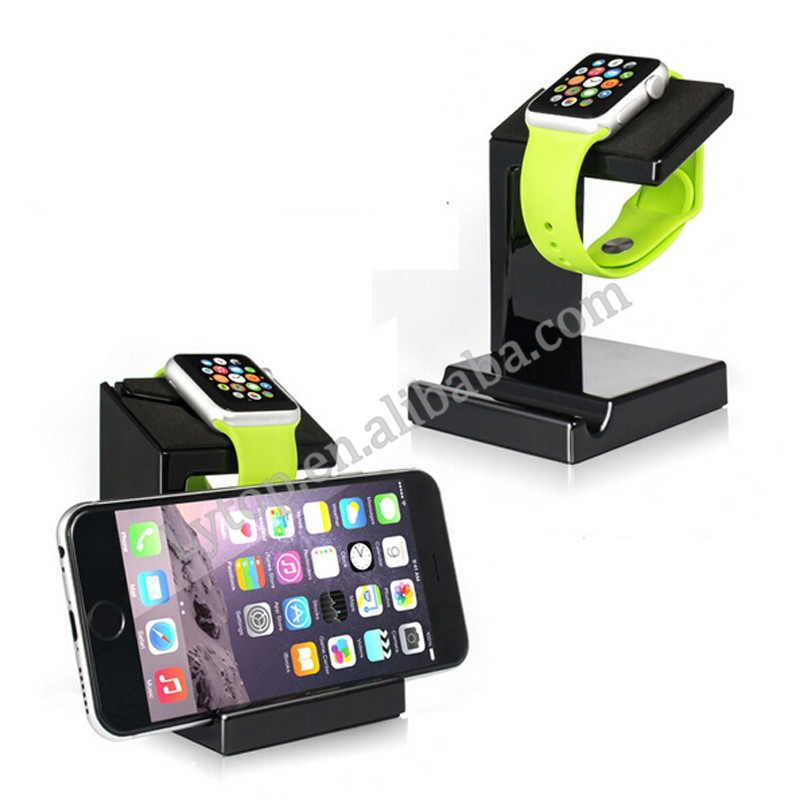 Newest Design 2 in 1 for Apple Watch & Phone, for Apple Watch charging stand for Apple Watch Dock
