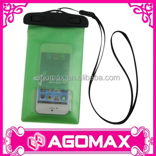 Certificated IPX8 10M & 30 MIN handy plastic dry smartphone case