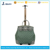 Fashionable lady rolling tote bag with wheels eminent travel bags
