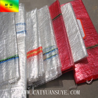 caiyuan top sale cheap mesh bag golf balls for packing onion potato