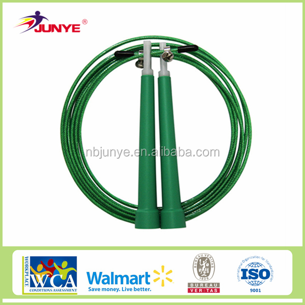 BSCI Audit Factory high quality metal crossfit skipping rope