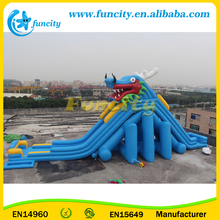 Giant Commercial Inflatable Water Slide For Adults
