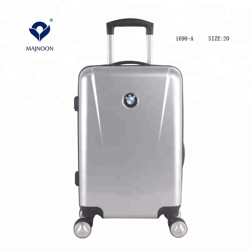 Gift Hard Shell Luggage Travel Bag <strong>ABS</strong>+PC Mirror Trolley Carry On Suitcase with Good Print Design