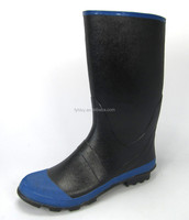most enduring mens rain boots rubber upper and rubber outsole rain boots manufacturer