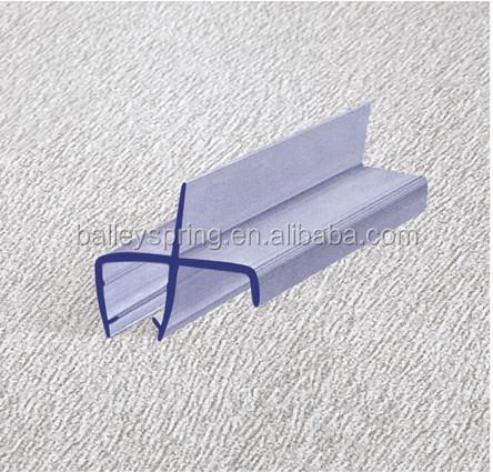 B016 glass door water retaining strip watere chute rubber strip for weather defector