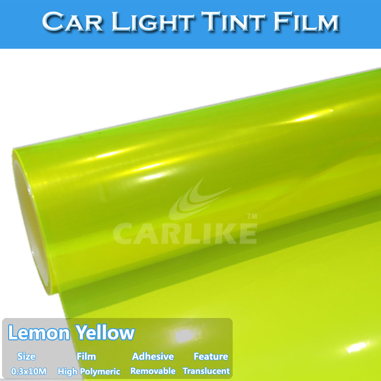 Auto Light Color Change Vinyl Film 0.3x10m