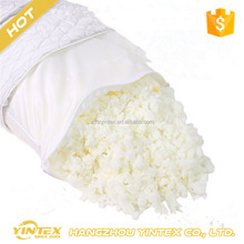 Comfort shredded memory foam bamboo pillow, magic bamboo fiber pillow Stay cool cover with zipper, breathable foam pillow
