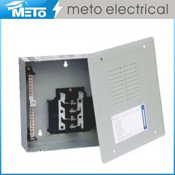 125 Amp Single Phase 6 Way Electrical Panel Board/Electrical Panel Board Parts/Electrical Distribution Panel Board