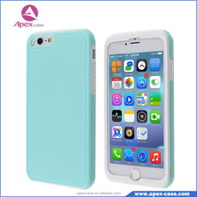 2016 hot selling exclusive mould candy color plastic case for iphone 6case