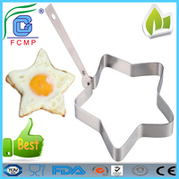 High quality star shape fried egg mold\egg ring\ pancake mould mold ring cooking
