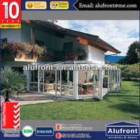 High Quality New Design Aluminium Glass Garden House made in China