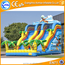 durable inflatable item slide inflatable long slide for kids inflatable children water slide for used