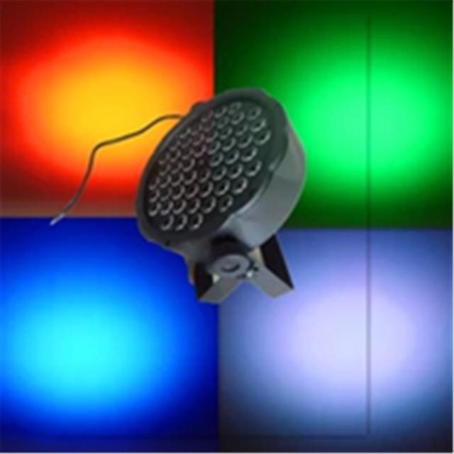 led stage light 54x1W RGBW LED par plastic light KTV bar light