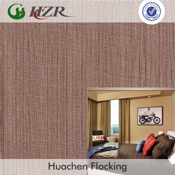 Hotel used fire retardant BS5867 polyester taffeta printed curtain fabric