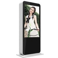 55 Inch Lan Wifi 3G Outdoor Floor Standing LCD Advertising Digital Signage Display