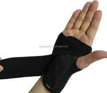Adjustable Sport Safety Brace Wrist Palm Support with Steel Plate