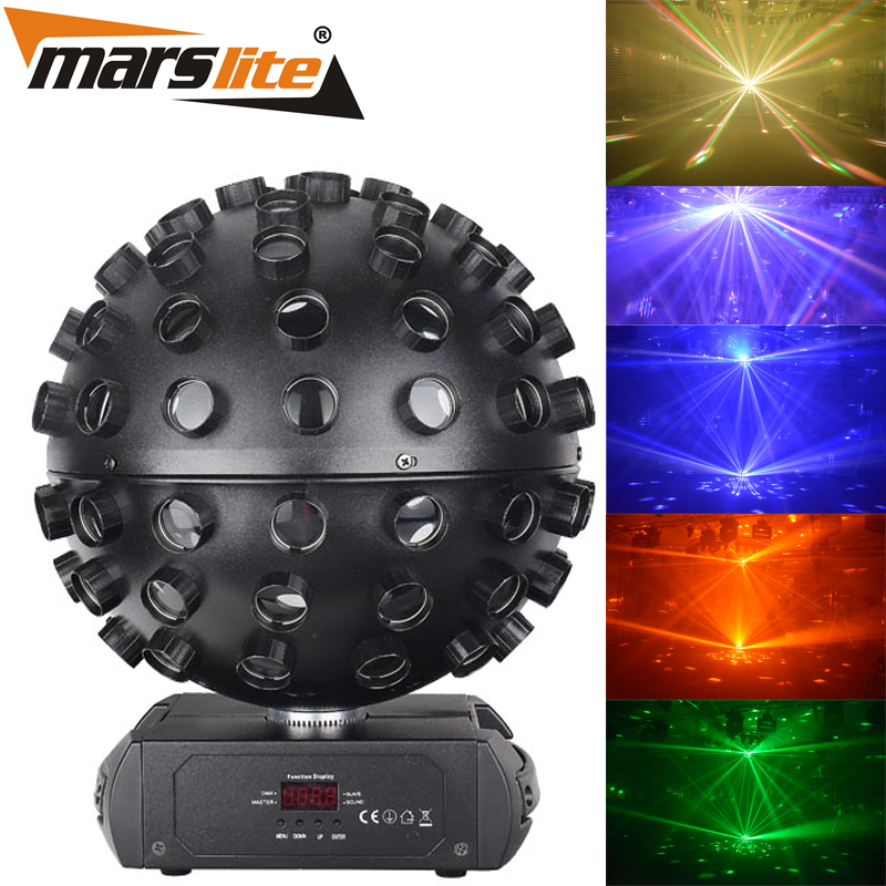 2017 Best Sale Night Club Stage DJ Led Light Disco Multi Color Magic Ball with high quality