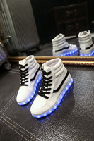 China popular adult led shoes sneakers to USA