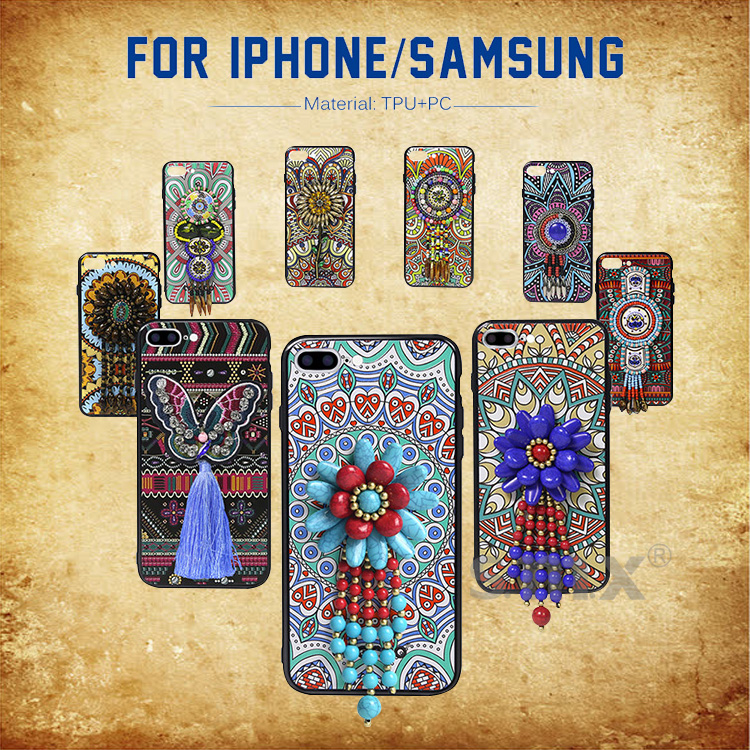 Promotional Gift Colorful Printing 3D TPU PC Mobile Phone Case Cell Phone Case For iPhone X 10 8 7 6 Plus