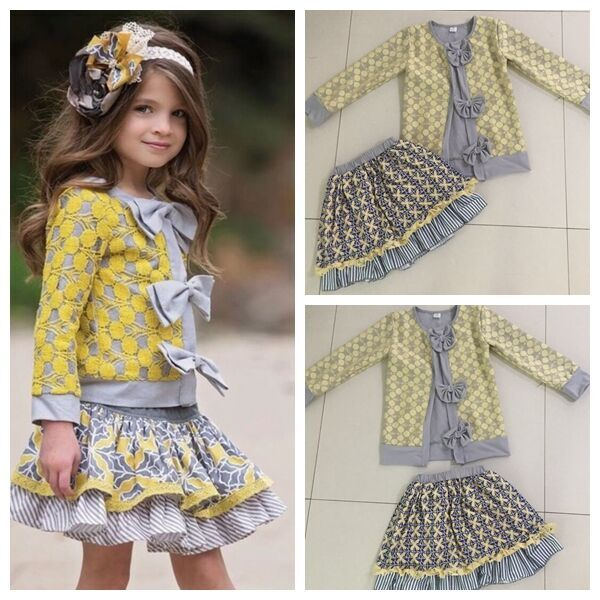 New arrival girl child girls boutique clothing wholesale Valentines boutique outfits