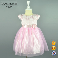 oem odm clothes girls wholesale girls flower girl dress good quality baby party dress