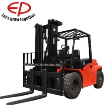 essential part of any large warehouse 5t 6t 7t 8t 10t heavy duty diesel forklift use for moving and lifting cargo with Japan eng
