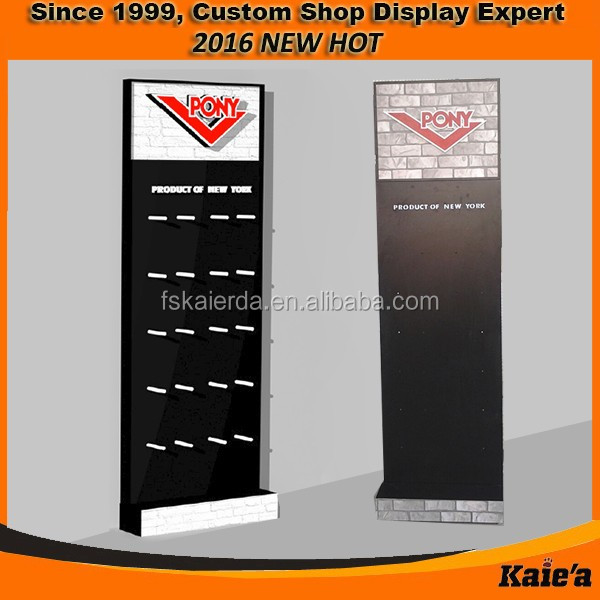 Retail headphone display fixture for headphone shop fixture design