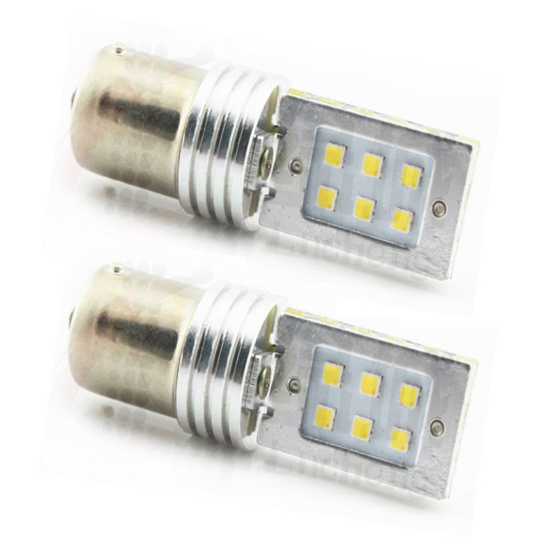 1157 2323 SMD car brake light led bulb light 6W dual filament high power