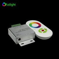 5 key touch remote controller rgb color change led flexible led strip controller 4 channel rgbw digital led controller