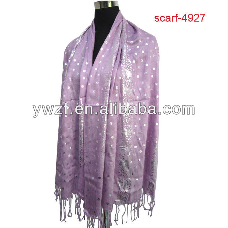 fashion pashmina scarf with sequins
