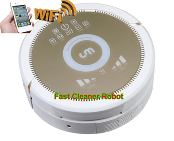 Smartphone WIFI APP Control Wet and Dry Automatic Robot Vacuum Cleaner QQ6KDM updated with Air purifier,3350MAH Lithium battery