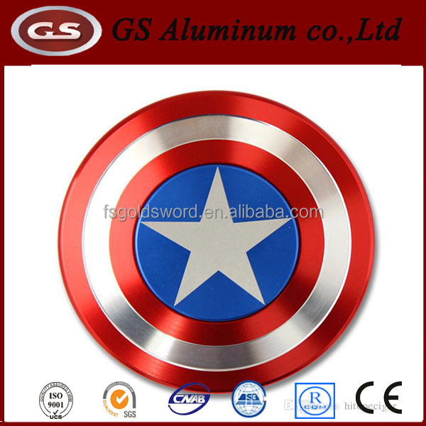 Anti-Anxiety Captain America Hand Spinner Hand Spinner Aluminum Bearing 360 Spinner Fidget Toy for Kids & Adults