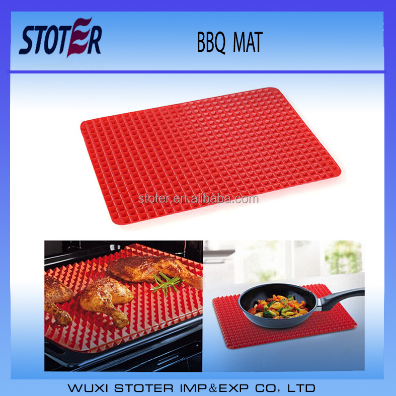 BPA Free Silicone Non-stick Healthy Cooking 260g Baking Mat and Pyramid Mat for Healthy Cooking