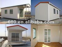 economic prefabricated steel frame house price