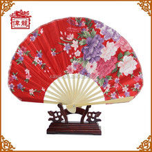 Silk Fabric Dancing Fans for wedding party decoration GYS5010