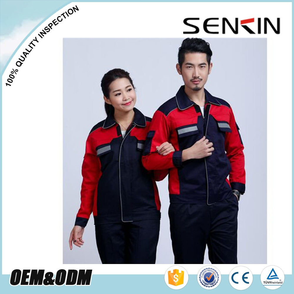 Unisex 100% cotton Twill Safety Working suit