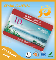 2015 High Quality Plastic Customized Proximity Id Cards Printed