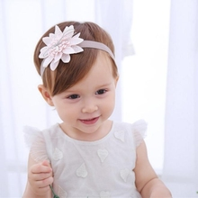 Baby's Headbands Girl's Chiffon Head Band Hair Flower