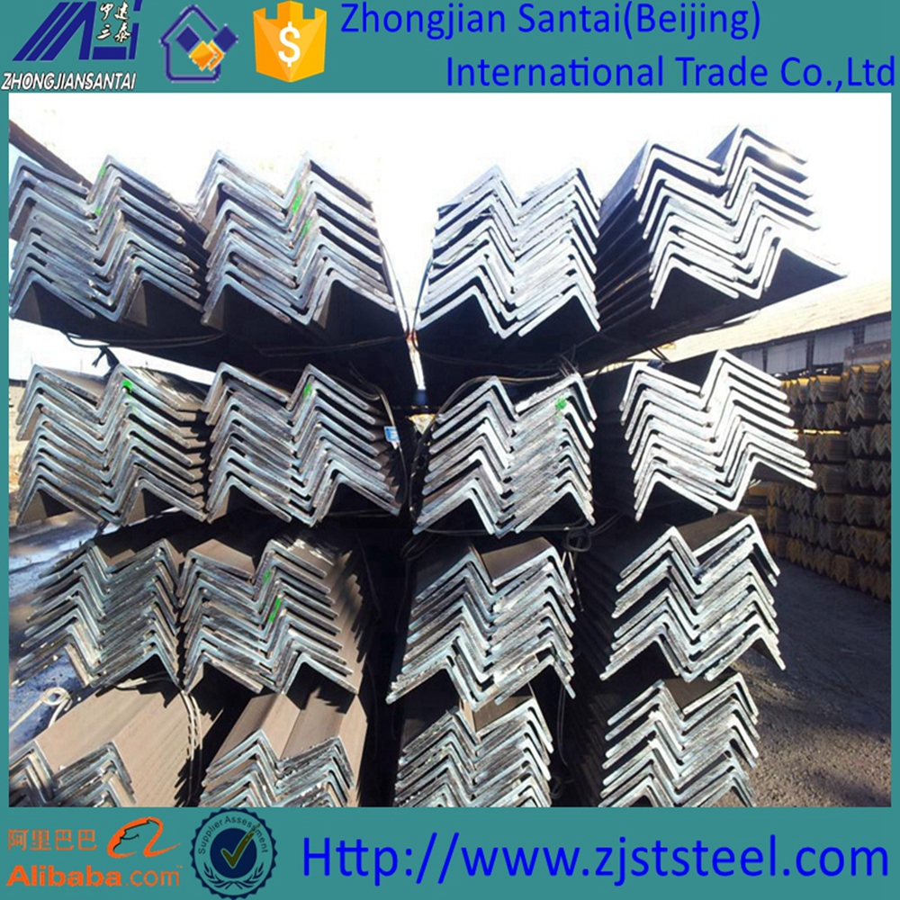 Hot Rolled Steel Perforated Angle iron Beam SS400 6 Meter Weight And Price